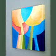 My Abstract Tulip Poster by Carola Ann-Margret Forsberg