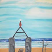 My Beach Poster