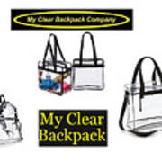 My Clear Backpack Poster