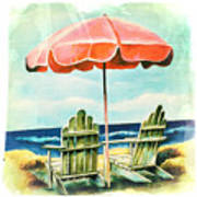 My Favorite Secret Beach Spot Poster