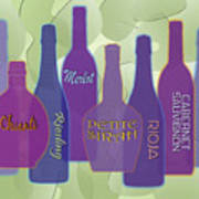 My Kind Of Wine Poster by Tara Hutton
