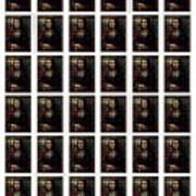 My Mona Lisa Weave Poster by Teodoro De La Santa