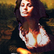 My Real Mona Lisa Poster