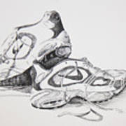 My Running Shoes Poster