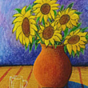 My Sunflowers Poster