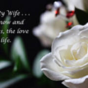 For My Wife - Expressions Of Love Poster