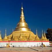 Myanmar Temple Poster