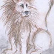 Mya's Lion Poster