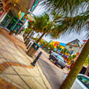 Myrtle Beach Shopping Poster