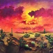 Mystery Of The Desert Poster