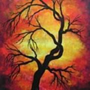 Mystic Firestorm Poster by Jordanka Yaretz
