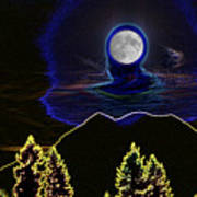 Mystic Moon Poster