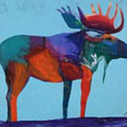 Mystic Moose Poster