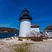 Mystic Seaport Lighthouse Poster