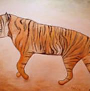 Mystic Tiger Poster
