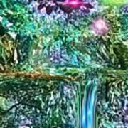 Mystic Waterfall Poster