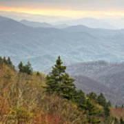 Blue Ridge Mountain 3 Poster