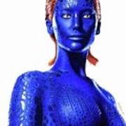 Mystique Drawing Poster