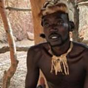 Namibia Tribe 2 - Chief Poster