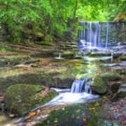 Nant Mill Waterfall Poster