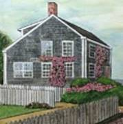 Nantucket Roses Poster