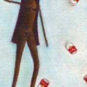 Naomi Throwing Cans Of Campbell Soup Poster