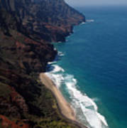 Napali Cliffs Poster