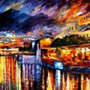 Naples - Vesuvius Poster