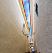 Narrow Alley In Cusco Poster