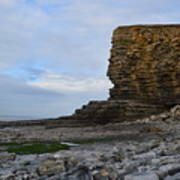 Nash Point In Wales Poster