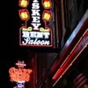Nashville Neon Signs  Poster