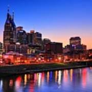 Nashville Southern Nights Poster