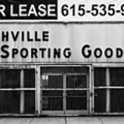 Nashville Sporting Goods Poster
