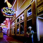 Nashville Street Musician Poster by Todd Fox