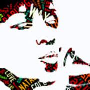 Natalie Cole Unforgettable Song Lyrics Poster