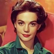 Natalie Wood, Vintage Actress Poster