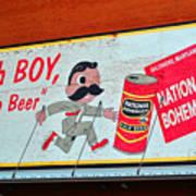 National Bohemian Poster