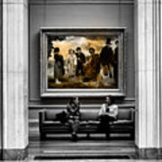 National Gallery Of Art Interiour 3 Poster