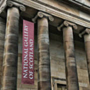 National Gallery Of Scotland  Poster