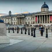 National Gallery Trafalgar Square Poster