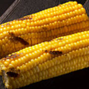 Natiral Grilled Corn  Poster