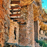Native American Cliff Dwellings Poster