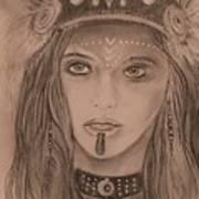 Native American Girl  Poster