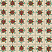 Native American Pattern Poster