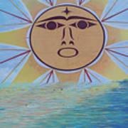 Native Sun Poster