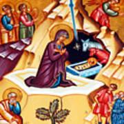 Nativity At Shepherd Field Poster