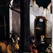 Nativity By Hans Baldung Grien Poster