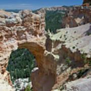 Natural Arch Bryce Canyon - Utah Poster