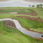 Natural Golf Poster