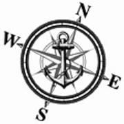 Nautica Bw Poster